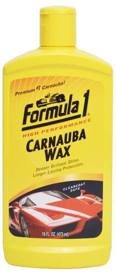 Zvětšit fotografii - FORMULA 1 CARNAUBA WAX 476 ml - Carnauba vosk na karoserii