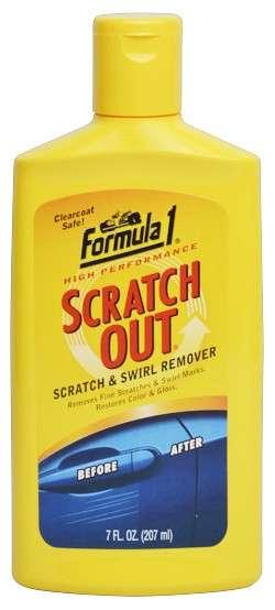 Zvětšit fotografii - FORMULA 1 SCRATCH OUT LIQUID 207 ml - odstraňovač jemných škrábanců na karoserii