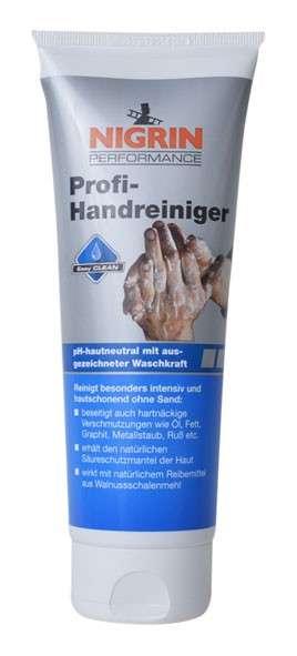 Zvětšit fotografii - NIGRIN PROFI-HANDREINIGER 250 ml - profesionální čistící pasta na ruce v tubě
