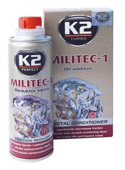K2 MILITEC-1 METAL CONDITIONER 250 ml - přísada do oleje