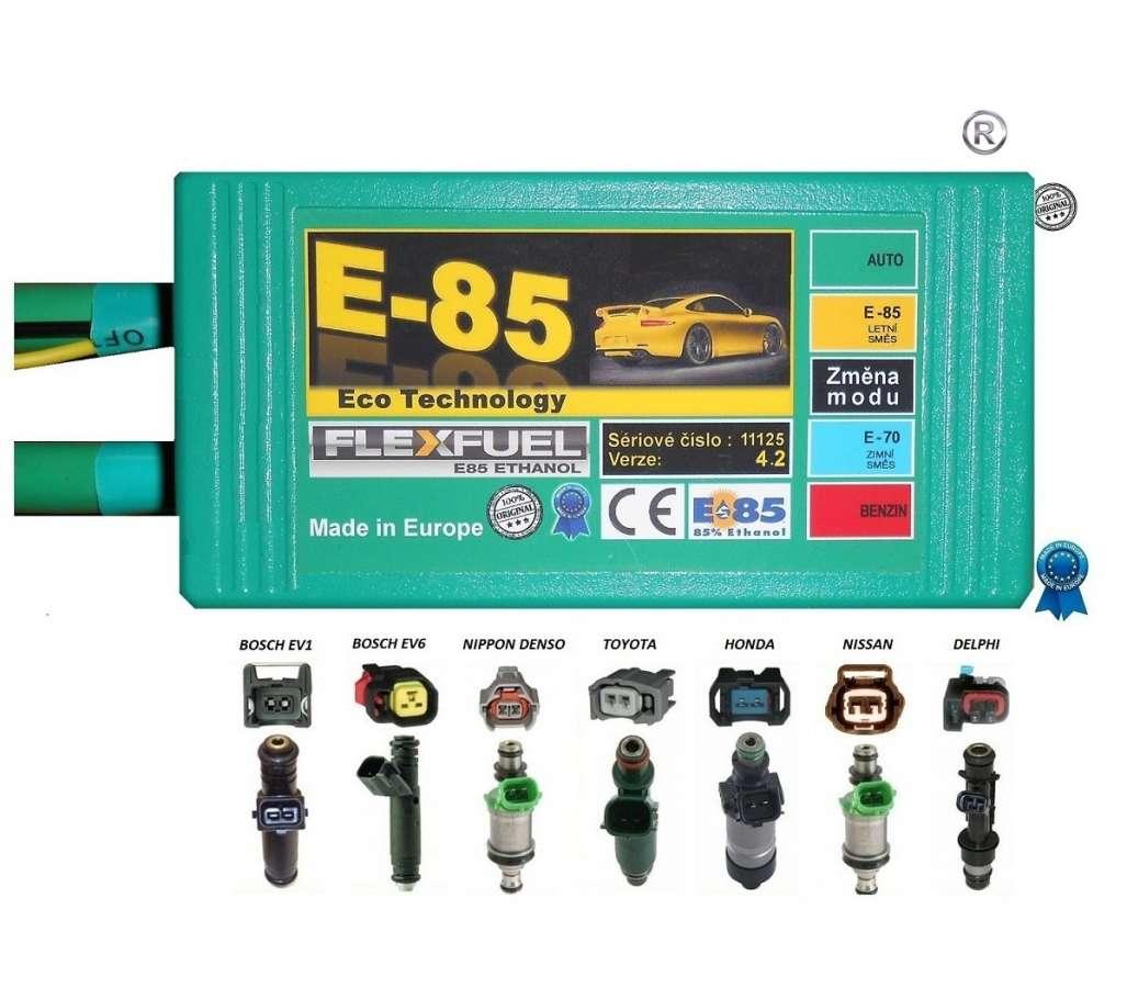 Sada E85 pro úpravu ethanol V4.2 pro V5-V6-V8 v4.2