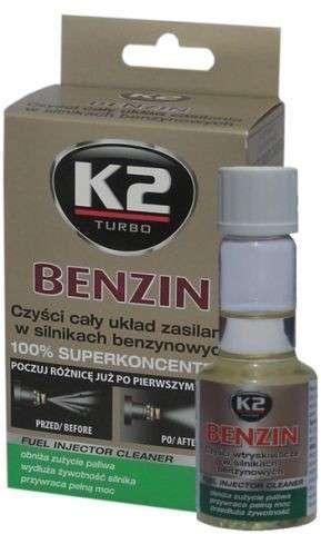 K2 TURBO BENZIN 50 ML- aditivum do paliva (obnovuje výkon motoru, snižuje emisní hodnoty)
