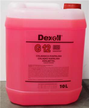 Antifreeze G12 25L DEXOL - EXPEDICE do 48 hodin.