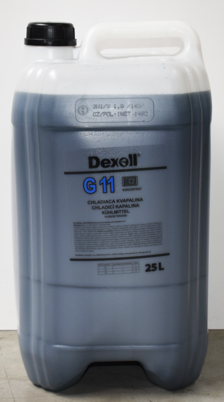 Antifreeze G11 (G48) 25L DEXOL - EXPEDICE do 48 hodin.