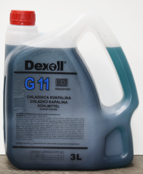 Antifreeze G11 (G48) 3L DEXOL - EXPEDICE do 48 hodin.