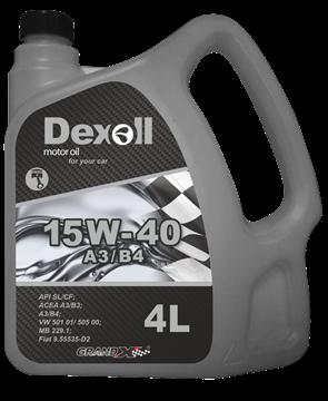 Dexoll 15W-40 A3/B4 4L DEXOL - EXPEDICE do 48 hodin.