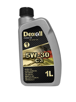 Dexoll 5W-30 C3 1L DEXOL - EXPEDICE do 48 hodin.