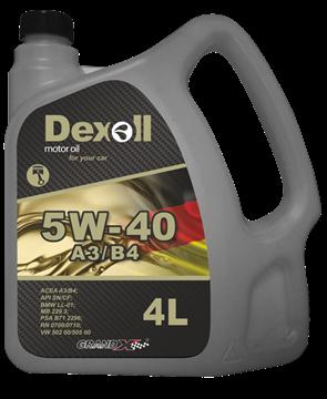 Dexoll 5W-40 A3/B4 5L DEXOL .