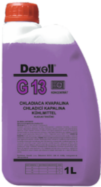 DEXOLL Antifreeze G13 25L DEXOL - EXPEDICE do 48 hodin.
