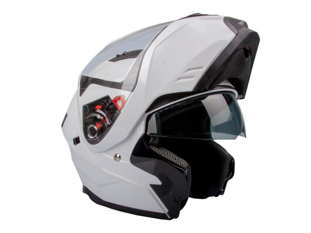 GSB Přilba (helma) výklopná G348 - L - white GSB