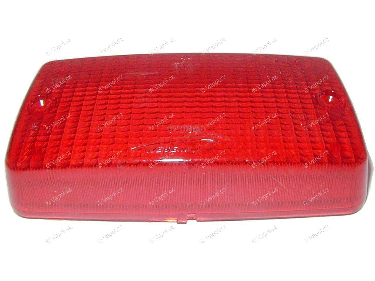 Krytka světla mlhovky (A.29133.C) červená WESEM