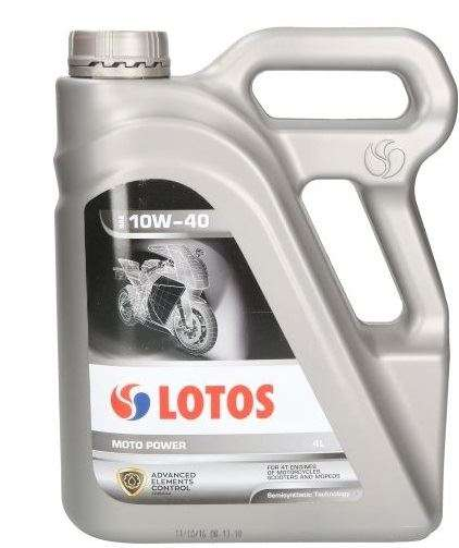 LOTOS 10W-40 MOTO POWER 4T 4L