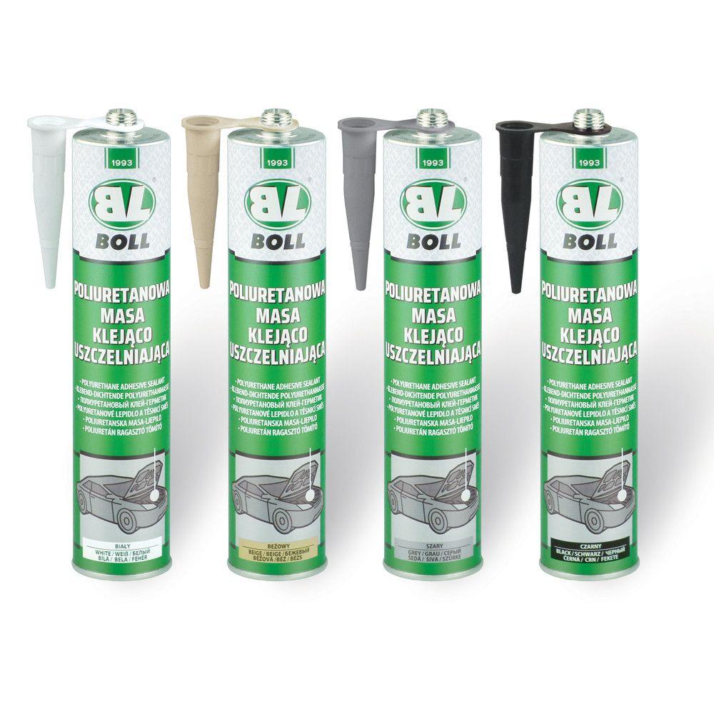 Polyuretanová lepící a těsnící hmota bílá 310ml TUBA BOLL