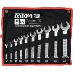 Sada klíčů plochých 10 ks 6 - 27 mm Yato YT-0380